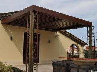 pergola bioclimatique toit plat
