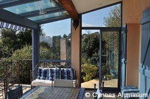 toiture en verre double vitrage cool lite extreme cannes. Black Bedroom Furniture Sets. Home Design Ideas