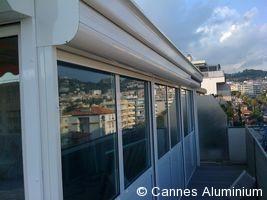 veranda avec volet roulant integr cannes 06 nice mougins. Black Bedroom Furniture Sets. Home Design Ideas